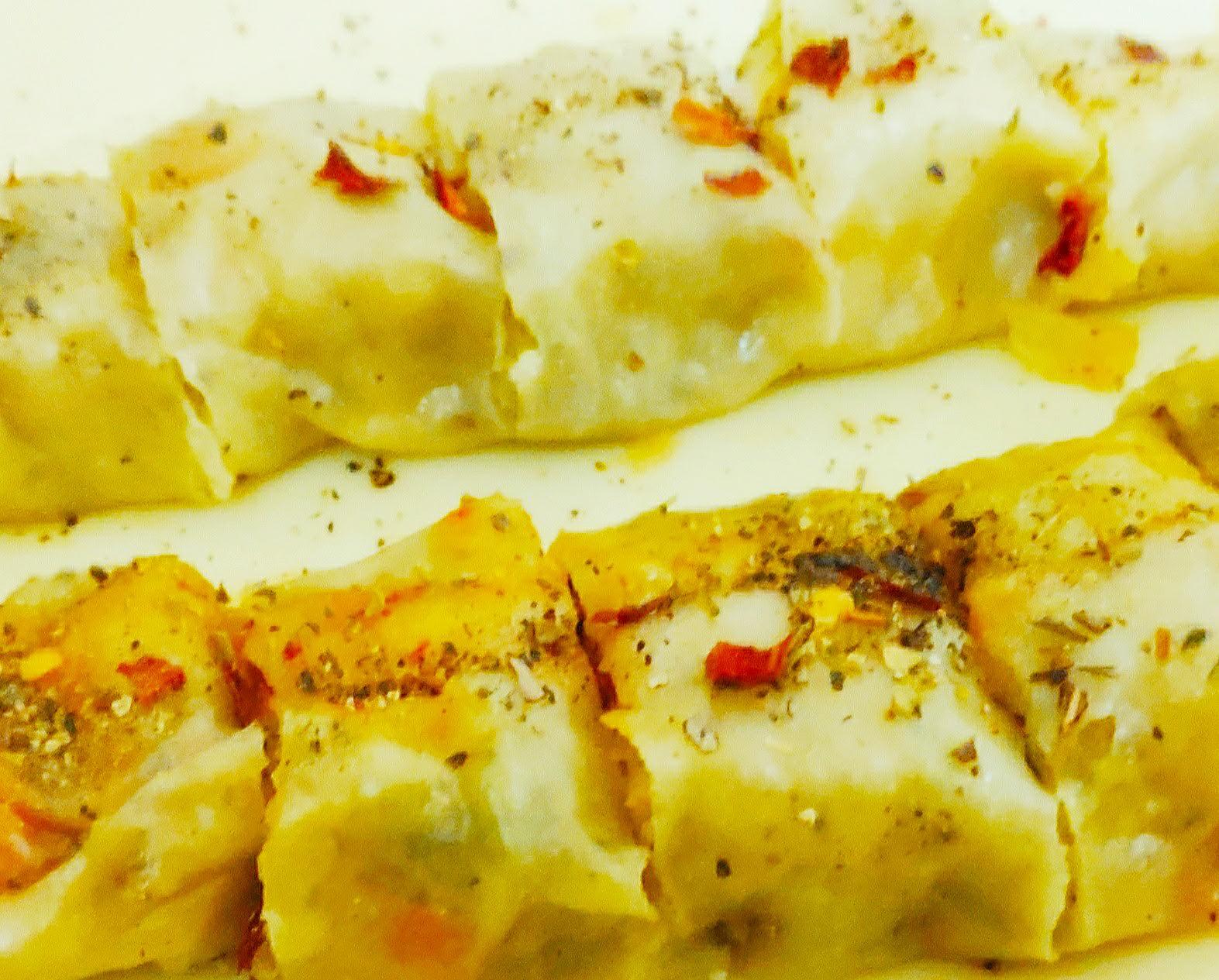 potato cheese momos roll